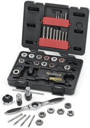 Tap and Die 40 Piece Set Metric GearWrench
